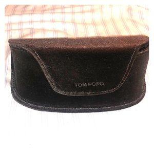 Tom Ford velvet glasses case